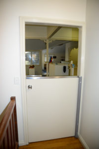 East Brisbane Childcare glass door