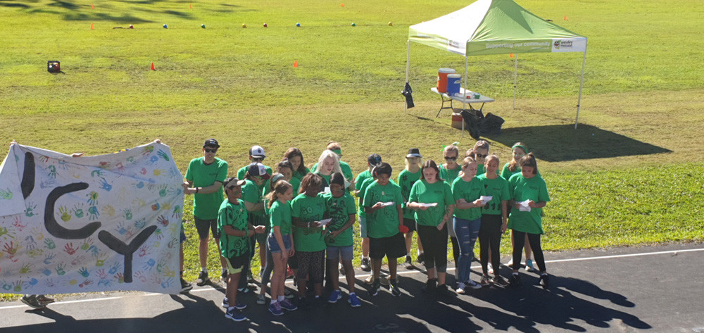 Wesley Mission Gold Coast Youth Winter Olympics teams