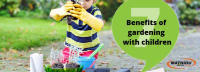 7 Benifits of Kids Gardening