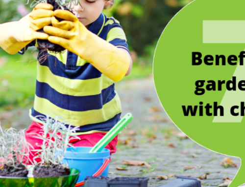 Benefits of gardening with children
