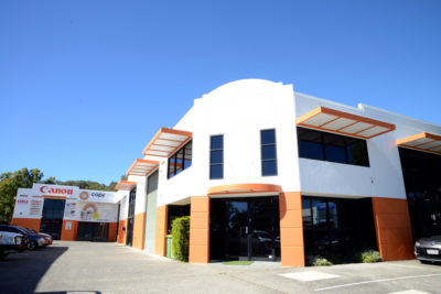 Burleigh Office Exterior Paint