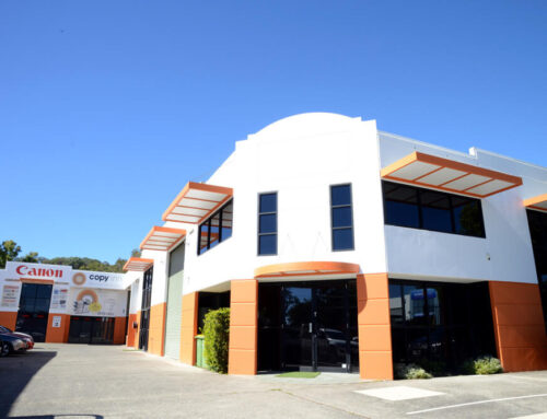 Office Exterior Paint Works