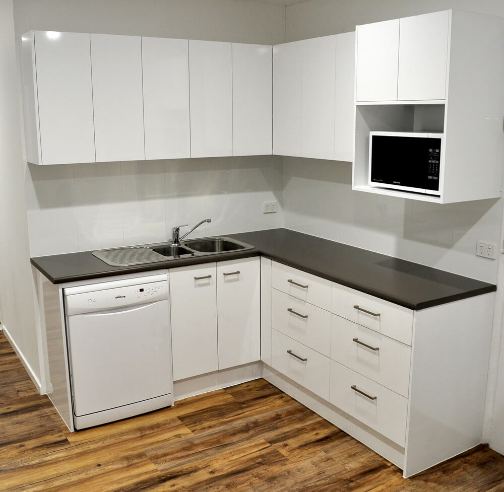 Office kitchen after upgrade