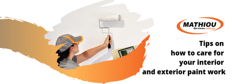 Tips on how to care for your interior and exterior paint work Community Maintenance and Repair Services Painting and Decorating Services  Painting and Decoration painting interior paint exterior paint