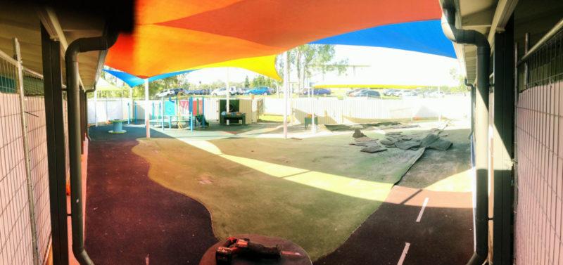 Stretton playground upgrade