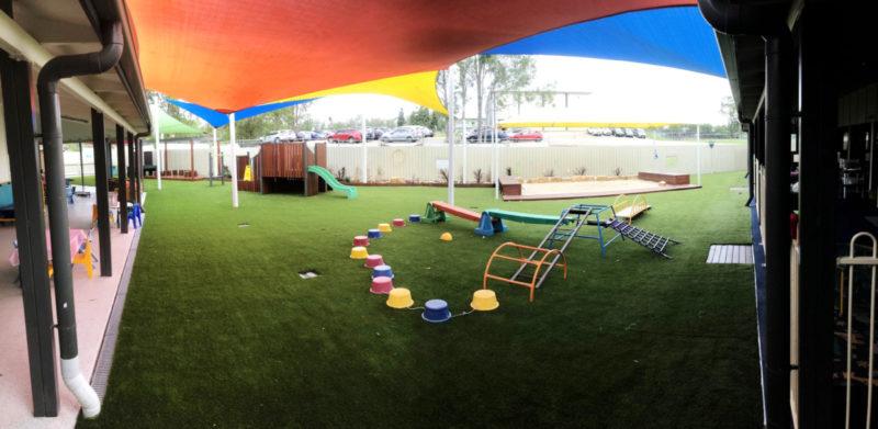Stretton playground upgrade experience