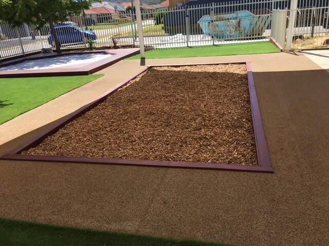 sandpit Landscaping work