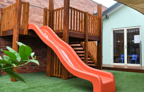 Bimbi Day care Playground Upgrade- new fort, sandpit, fence and sand pit