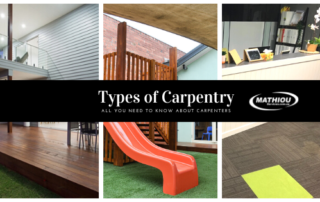 Types of Carpentry