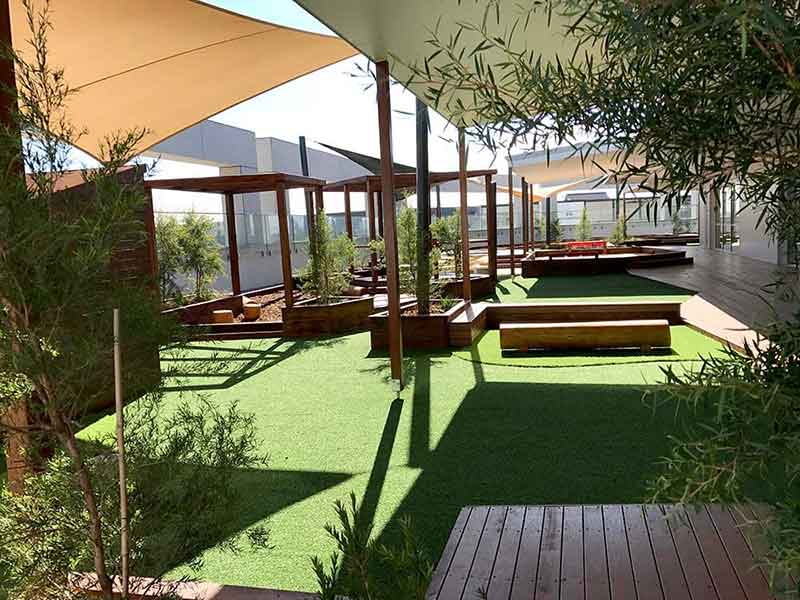 Marsden Park Childcare Centre, Shade Sail, Landscape & Gardening