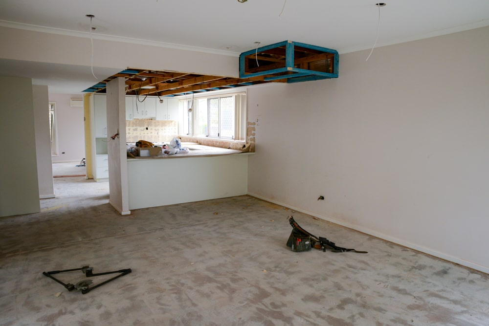 carpenter work in progress
