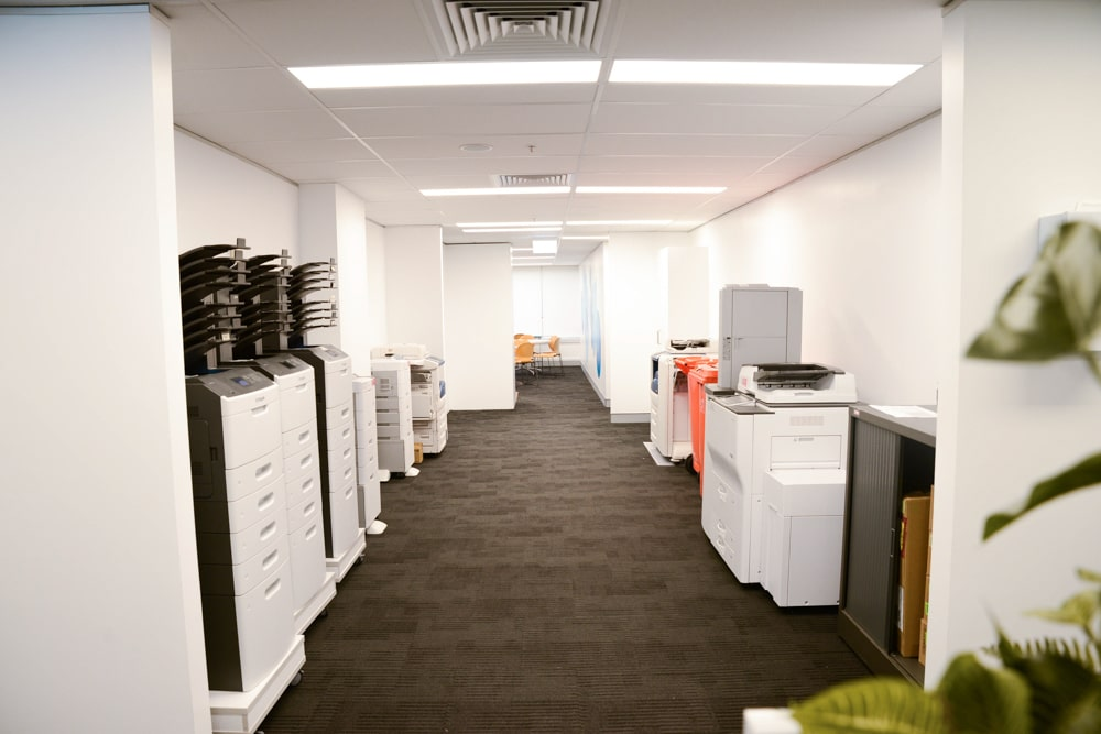 Commmercial high rise interior Fit out