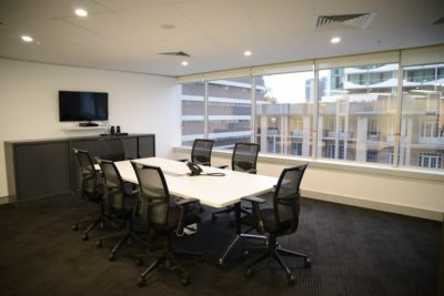 Brisbane commercial high rise interior