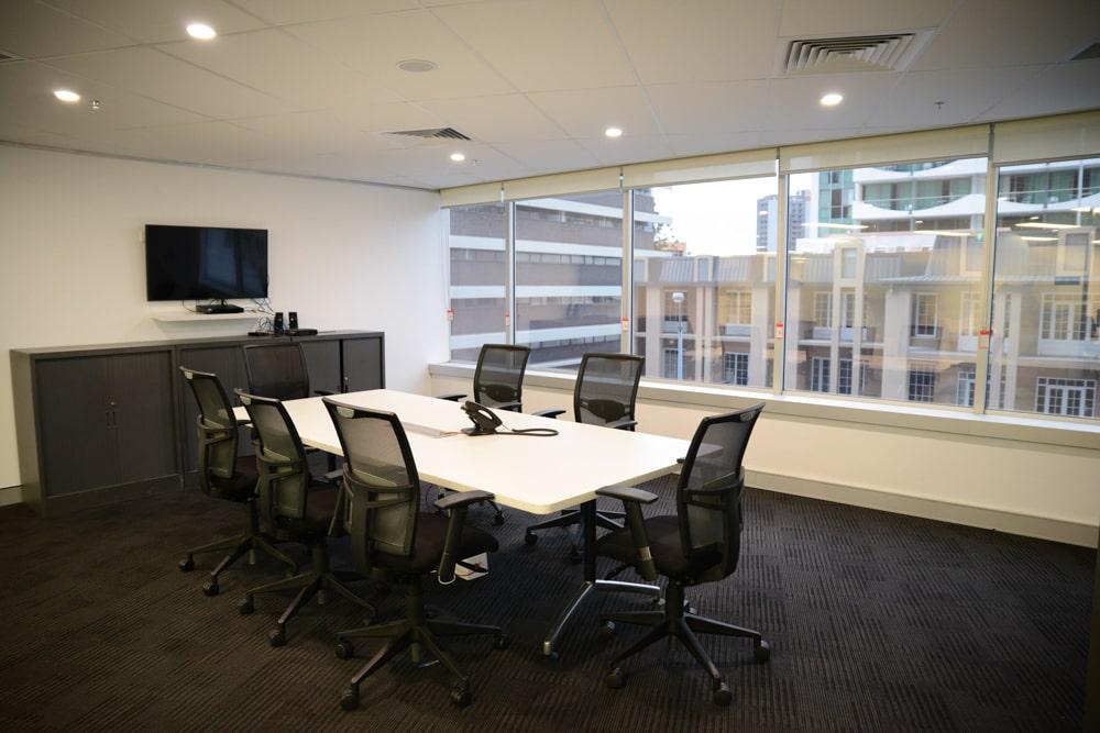 Brisbane commercial high rise interior