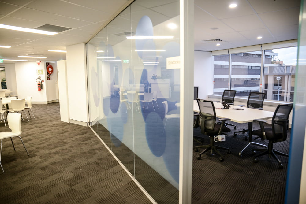 Brisbane commercial high rise office fit out