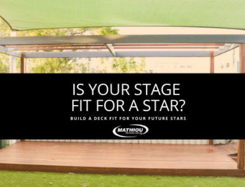 Benefits of a stage in your facility
