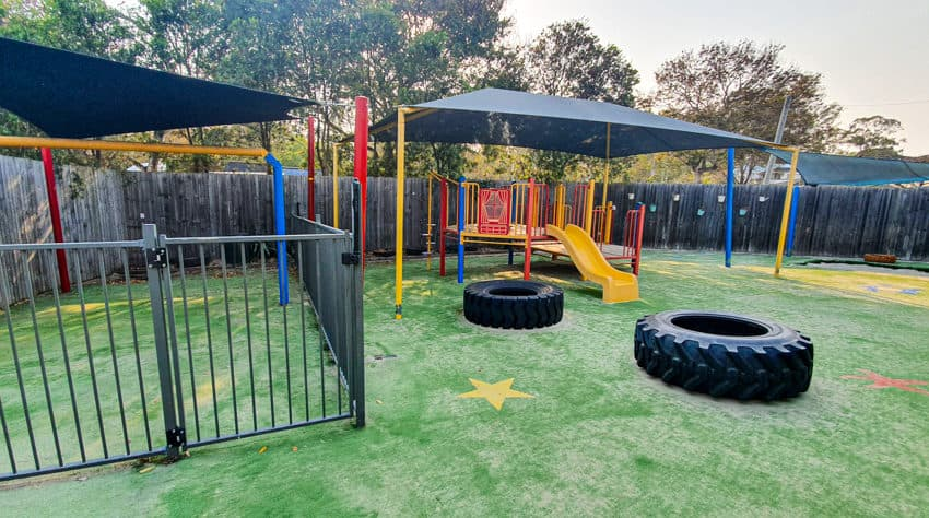 Sunnybanks custom mound playground