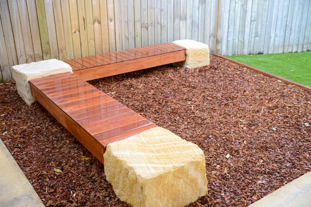 custom timber seat
