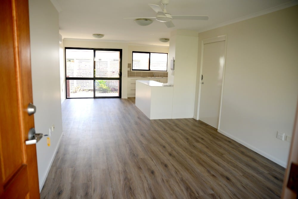 Retirement Unit Renovation lounge