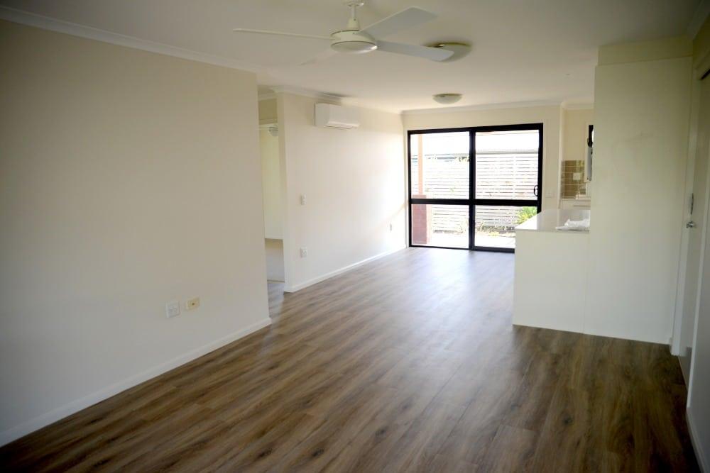 Retirement Unit Renovation Lounge Flooring