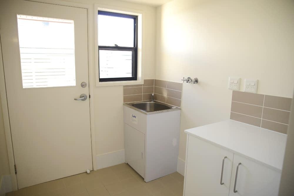 New washhouse fittings