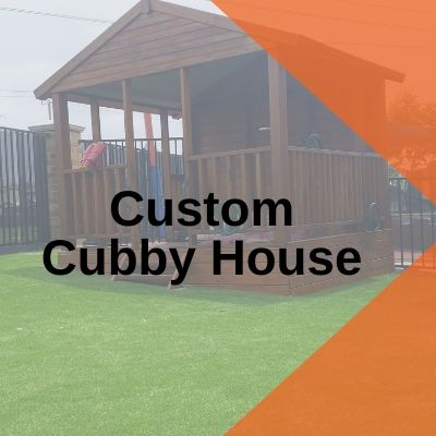 Custom Cubby House playground