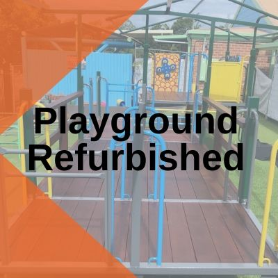 Playground Refurbished playground