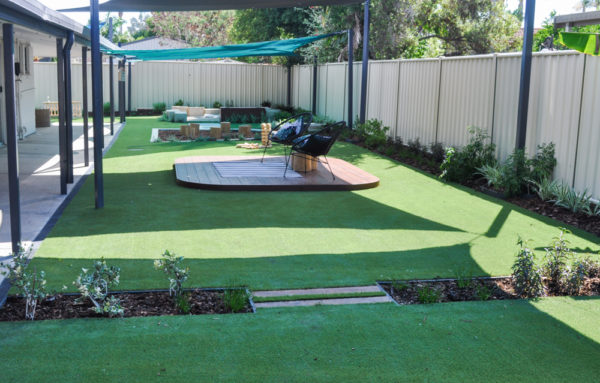 Annandale Exterior Lay natural grass