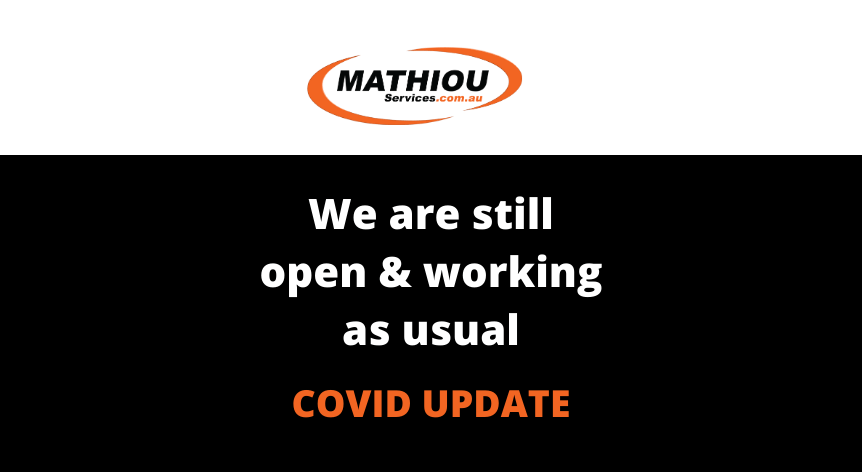Mathiou Services Covid update