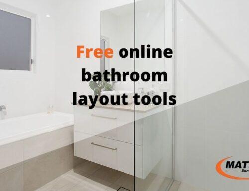 Free bathroom layout planning tools