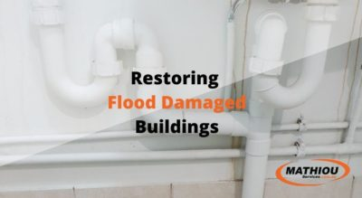 Restoring Flood Damaged Buildings