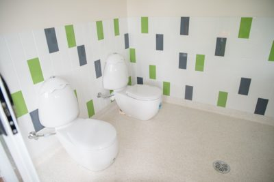 Bathroom tiling- vinyl- toilet installs
