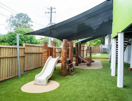 Tarragindi's new playground and staff room