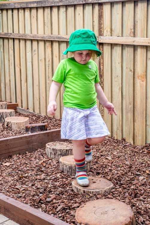 A kid in Tarragindi's new playground