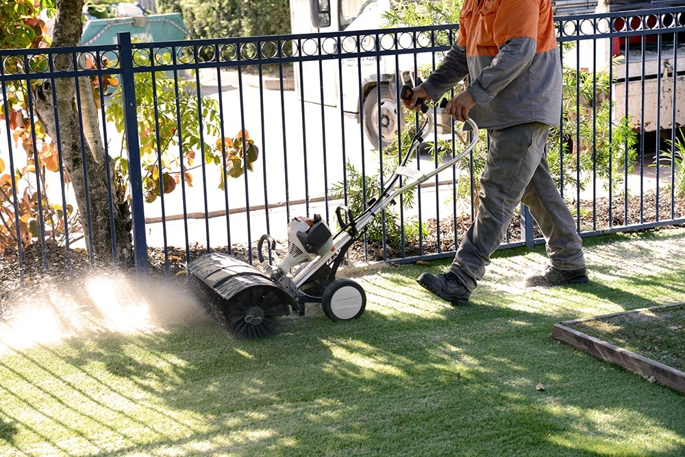 Synthetic turf Maintenance Powerbroom