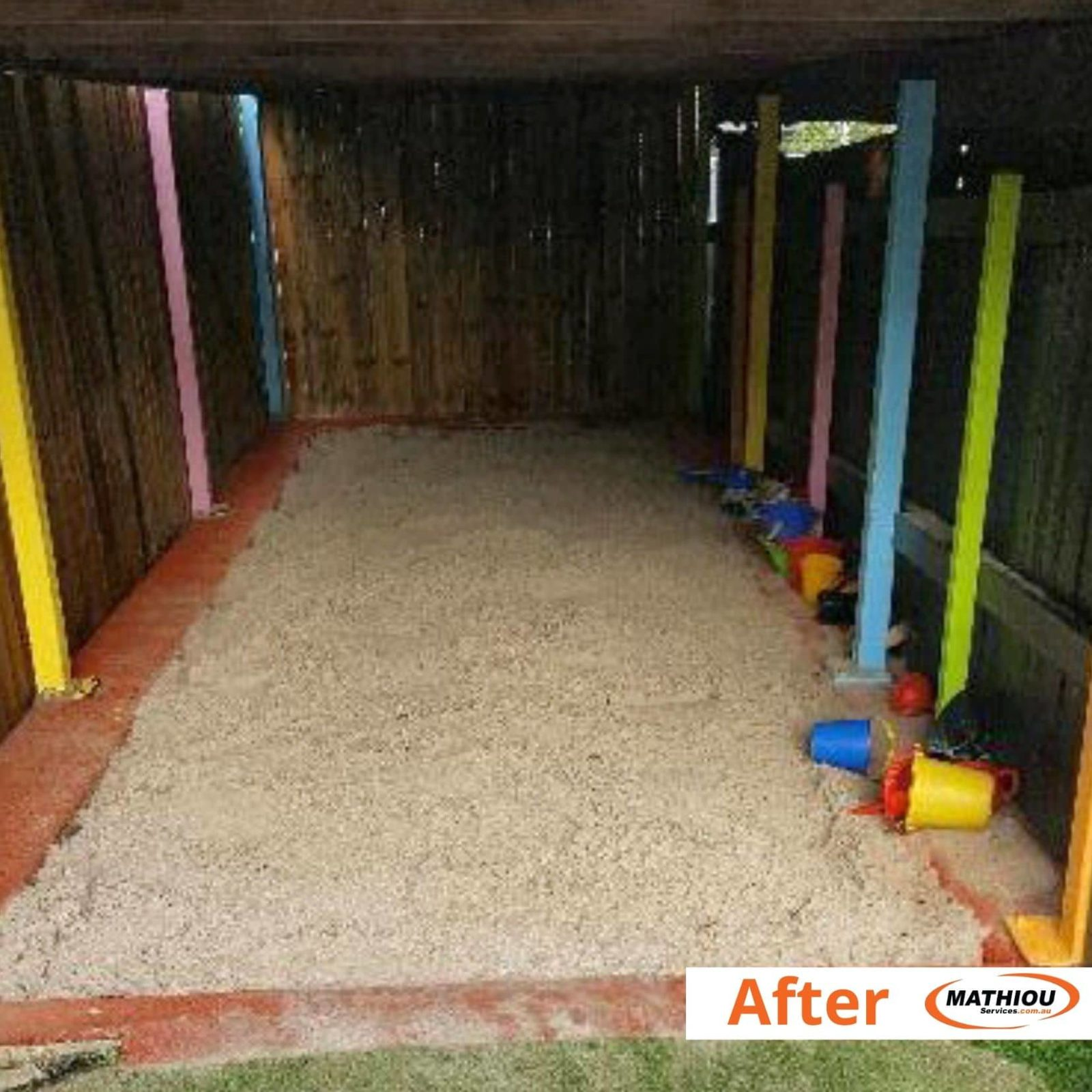 Cubby Care Sandpit Top up -after