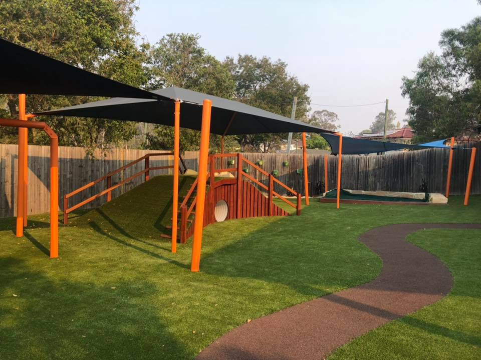footprints playground upgrade
