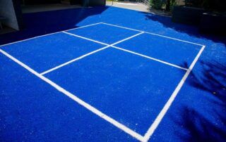 Handball court upgrade