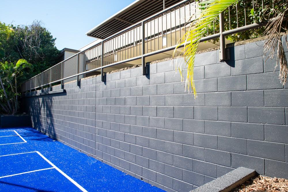 state school handball court