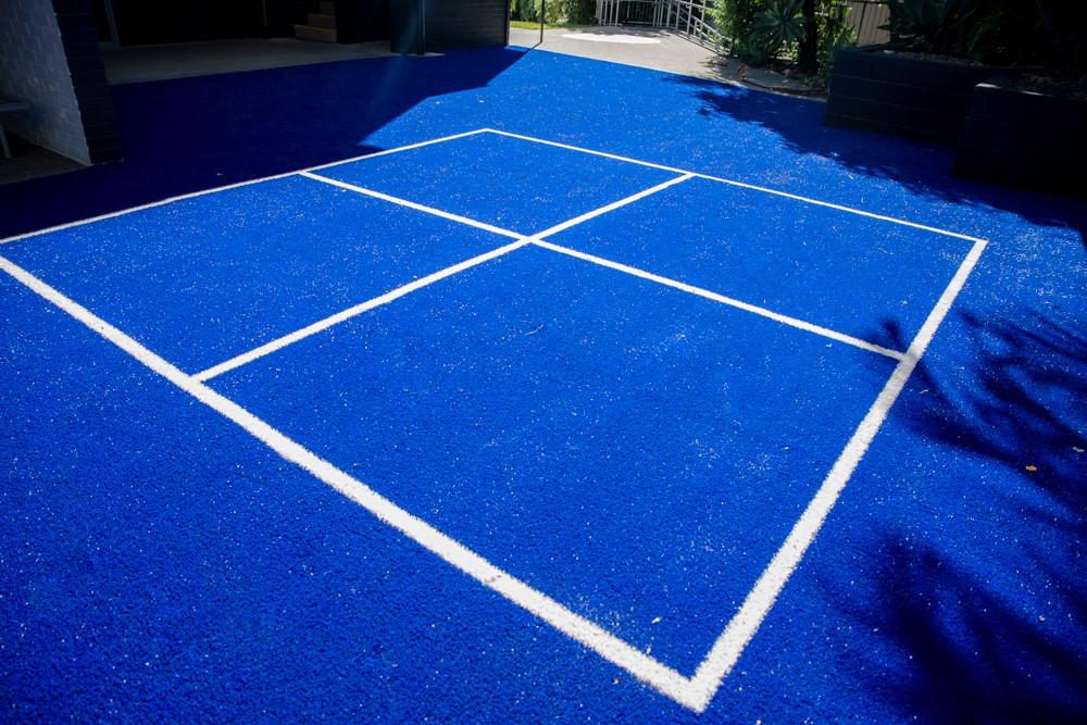 handball court upgrade