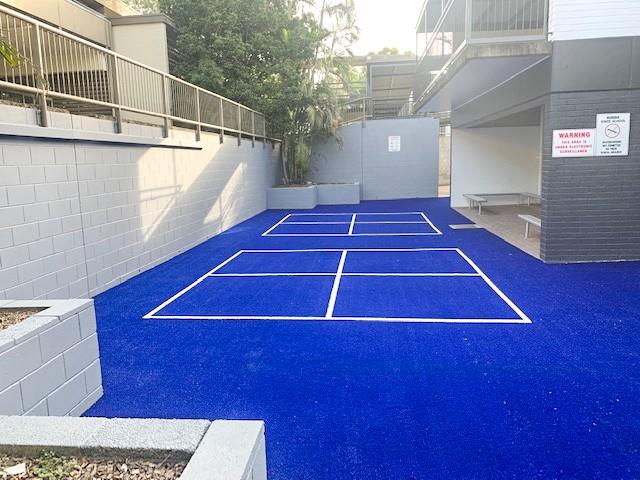 handball court- during