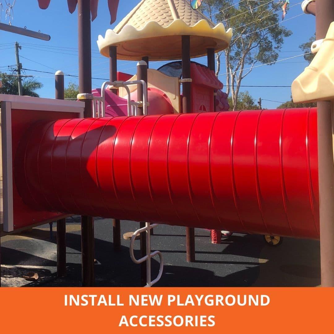 New playground install