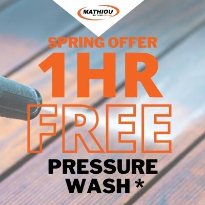 pressure wash