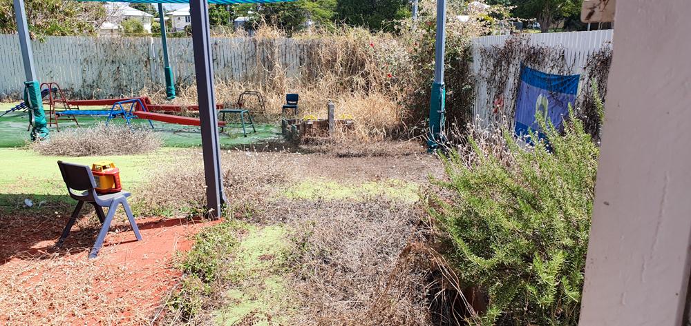 Hyde Park - Outdoor Renovation-Deck- before