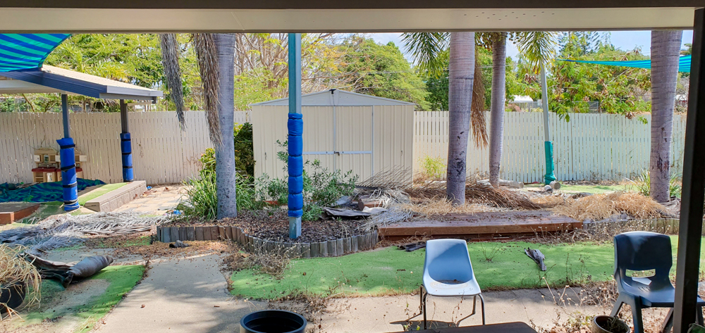 Hyde Park - Outdoor Renovation - shed