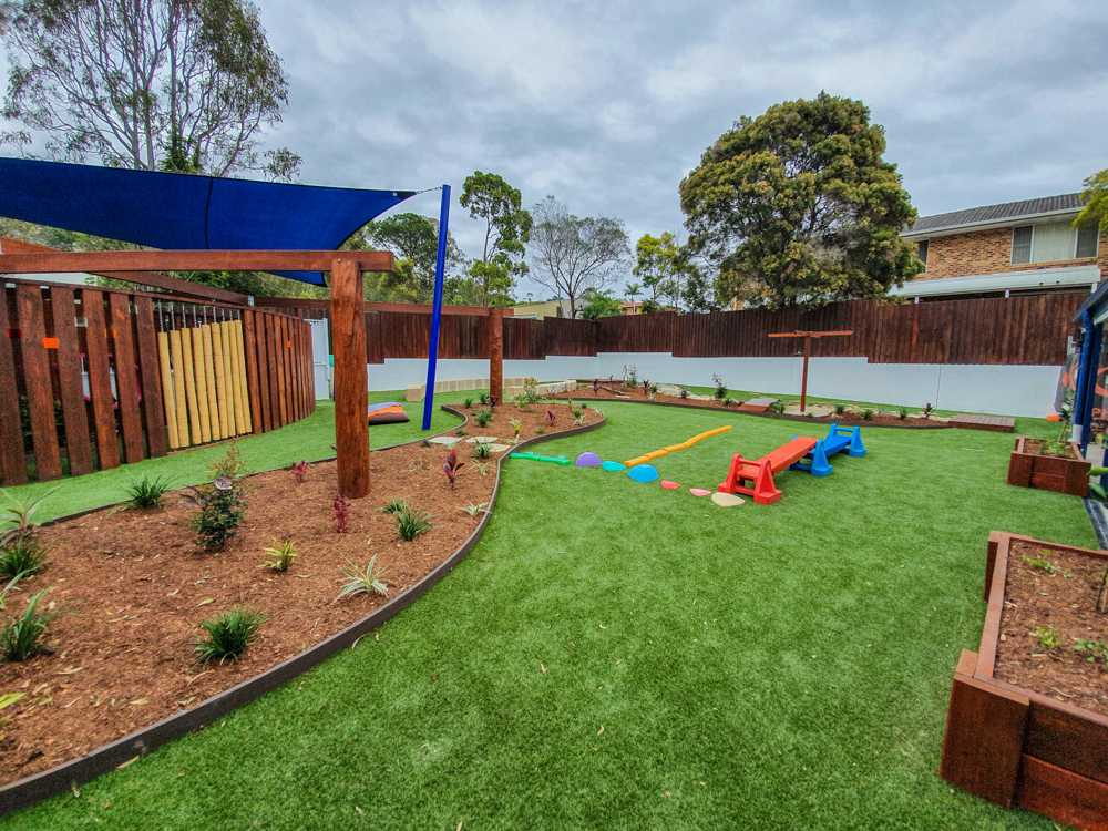 Playground upgrade in Queensland