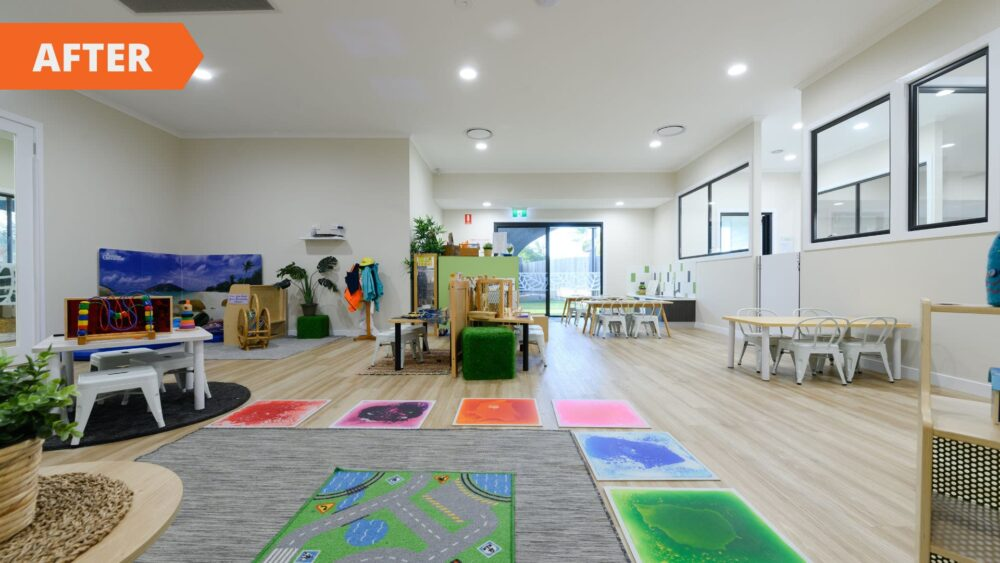 Aroona renovation - after interior fit out