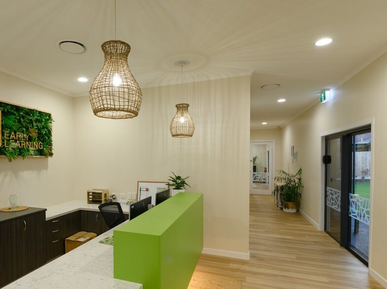 Internal reception fit out