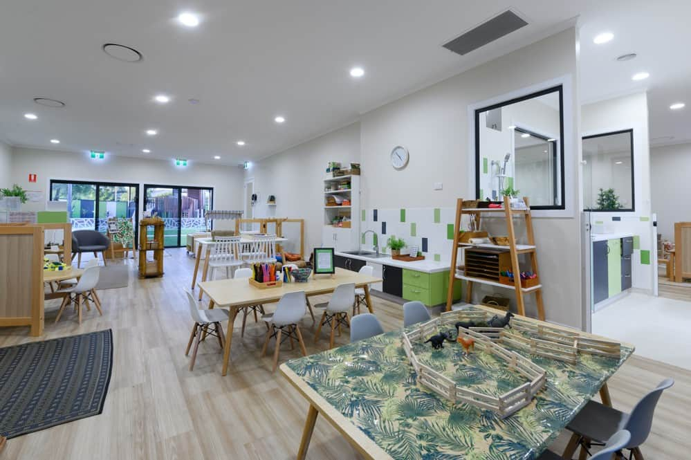 Interior renovation - early learning centre