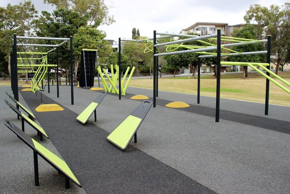 Best Playgrounds-Brisbane-Guyatt-Park-Ninja-Course